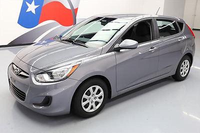 2013 Hyundai Accent  2013 HYUNDAI ACCENT GS HATCHBACK AUTOMATIC CD AUDIO 63K #123443 Texas Direct