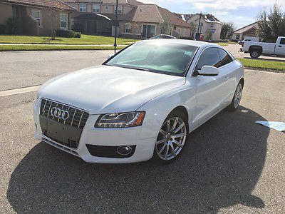 2011 Audi A5 Luxury Hatchback 4-Door 2011 Audi A5 Quattro 2.0 Turbo Coupe Sunroof Heated Seats Low Miles! GORGEOUS