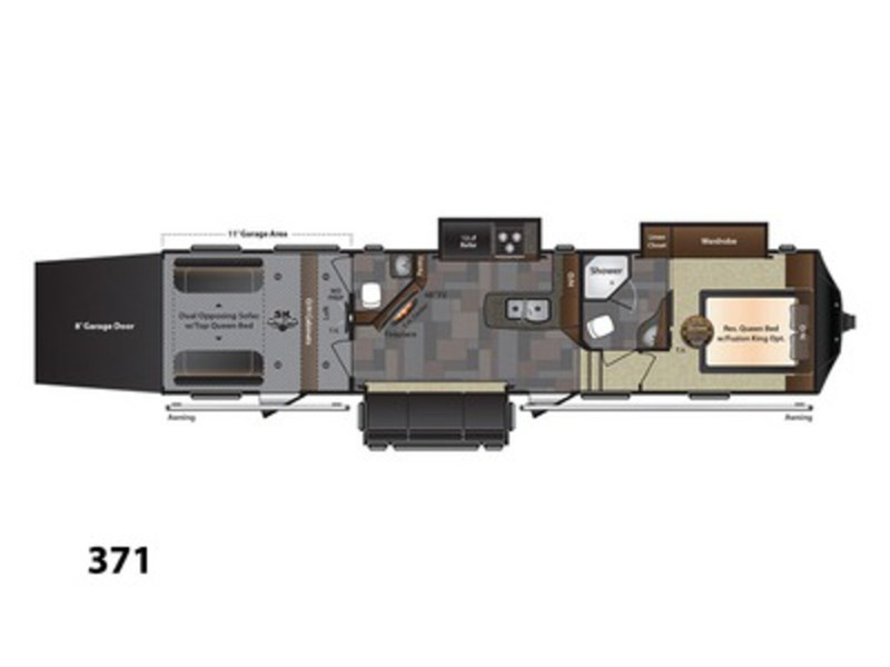 Keystone Rv Fuzion 371