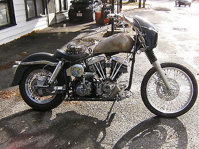 1998 Custom Built Motorcycles Pro Street  harley shovelhead other bobber chopper vintage race pro street project fxe rare