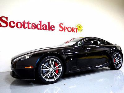 2013 Aston Martin Vantage ONLY 6K MILES, EVERY OPTION, UPGRADED WHEEL PKG. A 13 AM VANTAGE * 6K MILES, AUTO, BLACK PIANO WOOD, S WHEELS, NAVI, LOADED!!