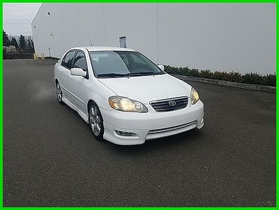 2007 Toyota Corolla S 2007 S Used Certified 1.8L I4 16V Automatic FWD Sedan