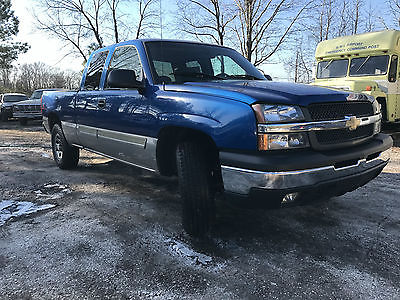 2003 Chevrolet C/K Pickup 1500 2003 Chevrolet Silverado 1500 Z71 4X4 4wd Pickup 2003 Chevrolet Silverado 1500 Z71 4X4 4wd Quad Crew Cab Tow Package LOW RESERVE