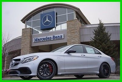 2017 Mercedes-Benz C-Class 2017 Mercedes-Benz C63 S AMG 2017 AMG C63 New Turbo 4L V8 32V Automatic RWD Sedan Premium