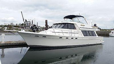 4788 Bayliner Pilothouse Motoryacht, 49% Ownership, Charter Income - $118000