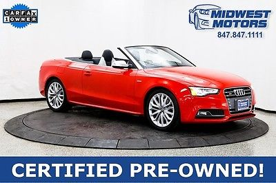 2015 Audi S5 Premium Plus Convertible 2-Door 2015 Audi Premium Plus