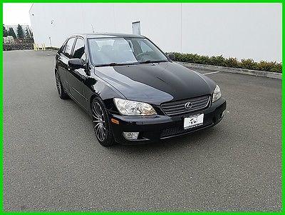 2001 Lexus IS 300 2001 300 Used 3L I6 24V Automatic RWD Sedan Premium