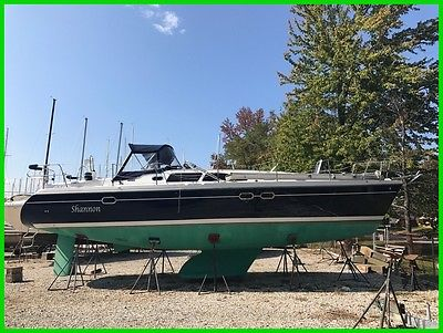 Catalina 387 BANK REPO DEAL 2005 334 hours Wing Keel Sailboat LOADED and Sharp