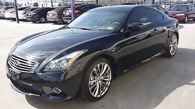 2013 Infiniti G37 S Infiniti G37S Coupe 2013 Rare Manual 6MT Premium Package Warranty Black - $23900