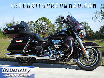 2014 Harley-Davidson Touring  2014 Harley Davidson Ultra Classic Navi, ABS, Only 1400 Miles!!! FLAWLESS