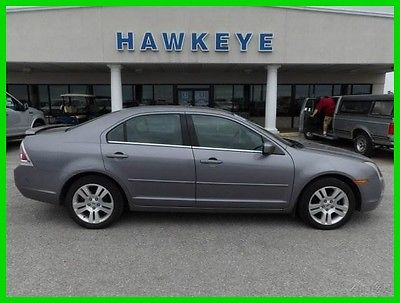 2007 Ford Fusion SEL 2007 SEL Used 3L V6 24V Automatic AWD Sedan Moonroof Premium