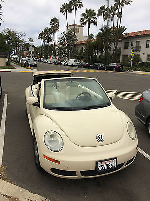 2006 Volkswagen Beetle-New Convertible 2006 VW New Beetle Convertible. Excellent condition. Automatic. Perfect for Cali