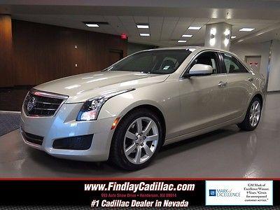 2014 Cadillac ATS 2.5L STANDARD 2014 CADILLAC ATS 2.5L STANDARD Silver Coast Metallic 4DR DOHC 16V VVT I-4 Autom