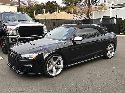 2014 Audi RS5 Convertible 2014 Audi RS5 Convertible 19500 miles Like New Condition Black/White