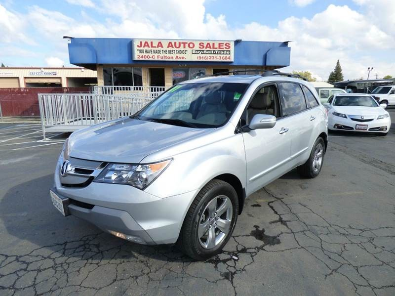 2007 Acura MDX SH-AWD w/Sport w/RES 4dr SUV and Entertainment Package