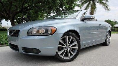 2009 Volvo C70 T5 2009 VOLVO C70 T5 CD, SAT, BLUETOOTH, HOMELINK, HEATED LEATHER, FLORIDA CAR!!!