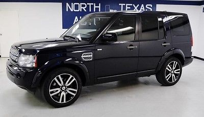 2012 Land Rover LR4 HSE 2012 Land Rover LR4 HSE Baltic Blue Metallic SUV Automatic