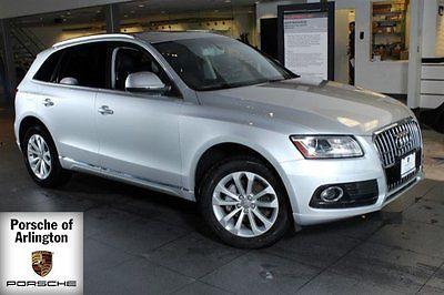 2014 Audi Q5 Premium Plus Sport Utility 4-Door 2014 SUV Used Intercooled Turbo Premium Unleaded I-4 2.0 L/121 Automatic AWD