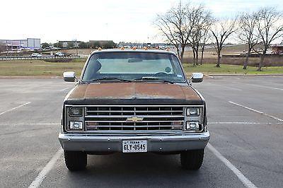 1985 Chevrolet C-10 Silverado 1985 chevrolet c10