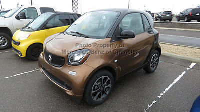 2016 smart Fortwo 2dr Coupe Prime 2dr Coupe Prime New Manual Gasoline 1.0L 3 Cyl Hazelnut Brown