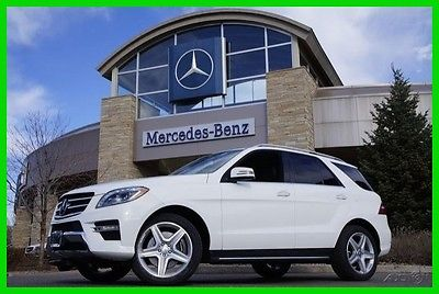 2014 Mercedes-Benz M-Class 2014 Mercedes-Benz ML550 Certified Factory Warranty 10/2018 - UNLIMITED MILES !!!
