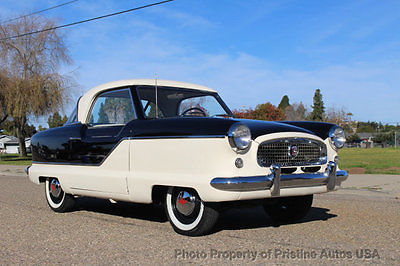 1957 Nash Metropolitan Totally restored and rust free. California Black plate car 1957 Nash Metropolitan, Totally restored and rust free, Fun car that drive great