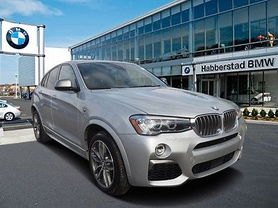 2017 BMW X4 M40i 2017 BMW X4 M40i 7,210 Miles Gray Sport Utility Intercooled Turbo Premium Unlead