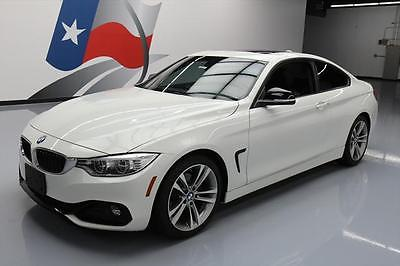 2014 BMW 4-Series Base Coupe 2-Door 2014 BMW 428I COUPE SPORT LINE TURBO AUTO SUNROOF 35K #712202 Texas Direct Auto