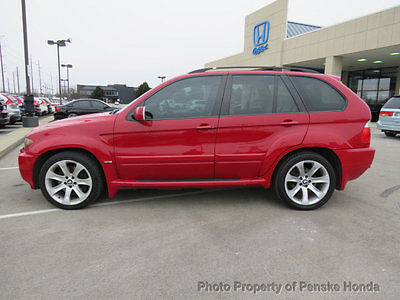 2005 BMW X5 4dr AWD 4.8is 4 dr awd 4.8 is suv manual gasoline 4.8 l v 8 dohc 32 v imola red