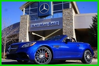 2017 Mercedes-Benz Other 2017 Mercedes-Benz SLC43 AMG 2017 AMG SLC43 (A9) New Turbo 3L V6 24V Automatic RWD Convertible Premium