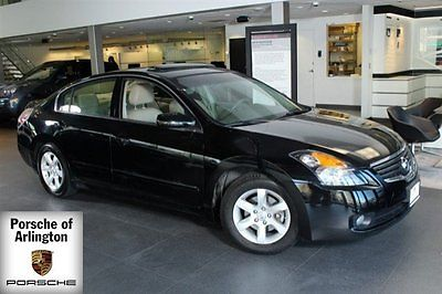 2007 Nissan Altima  2007 Sedan Used Gas I4 2.5L/152 1-Speed Continuously variable FWD Leather Black