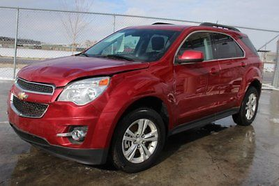 2015 Chevrolet Equinox LT AWD 2015 Chevrolet Equinox AWD LT Damaged Salvage Only 18K Miles Nice Color WontLast