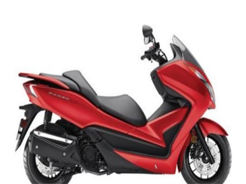 NSS300AE FORZA 300 ABS FORZA 300 ABS 14 New Honda Scooter Windshield Storage Pearl Red