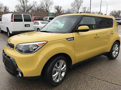 2016 Kia Soul + 2016 Kia Soul + 26126 Miles Solar Yellow Hatchback Regular Unleaded I-4 2.0 L/12