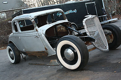 1934 Ford 5 window coupe none 1934 Ford 5 window coupe project hot rod street rod not chopped rat rod
