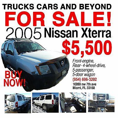 2005 Nissan Xterra  2005 Nissan Xterra