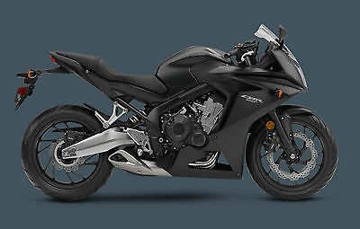 2014 Honda CBR  NEW 2014 HONDA CBR650F BLACK SPORT BIKE