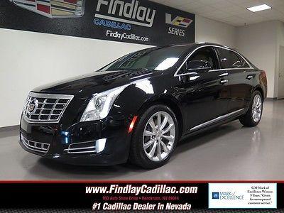 2013 Cadillac XTS PREMIUM 2013 CADILLAC XTS PREMIUM Black Raven 4DR DOHC DI VVT V6 Automatic