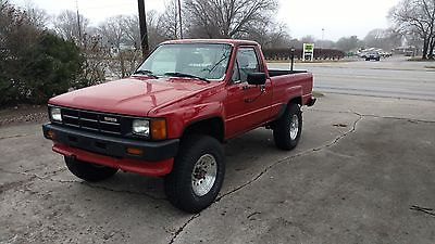 1986 Toyota Pickup Base Turbo 1986 Toyota Pickup Turbo