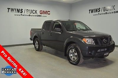 2010 Nissan Frontier PRO 2010 Nissan Frontier PRO 75699 Miles Gray 4D Crew Cab 4.0L V6 DOHC 5-Speed Autom