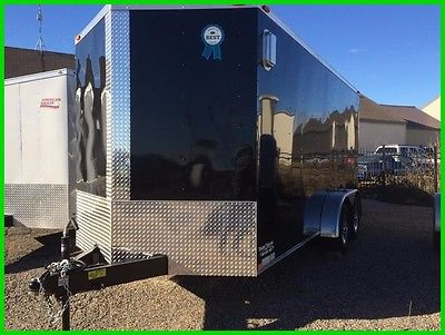 2017 American Hauler 7x16 Arrow Enclosed New