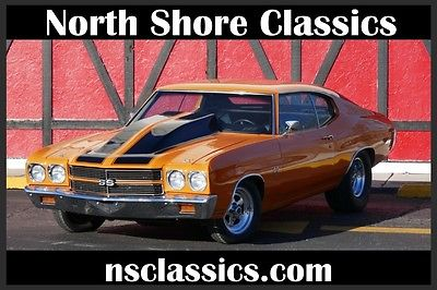 1970 Chevrolet Chevelle -SS396 SUPER SPORT WITH SUPERCHARGER-CLEAN SOLID M 1970 Chevrolet Chevelle -SS396 SUPER SPORT WITH SUPERCHARGER-68 69 71 72