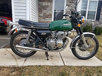 1973 Honda CB  1973 Honda CB350F CB 350 Four Original Running Clean Title Cafe SOHC