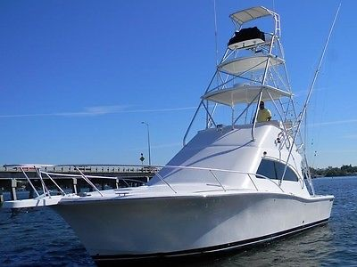 LUHRS 36 CONV*FULL TOWER*YANMAR 440HP*FURUNO NAVNET*RADAR*800 HOURS*WE FINANCE
