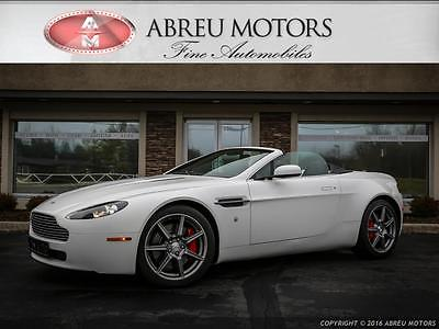 2008 Aston Martin Vantage Base Convertible 2-Door One Owner - Clean Carfax - Non Smoker - Just Serviced - Only 24146 Miles.