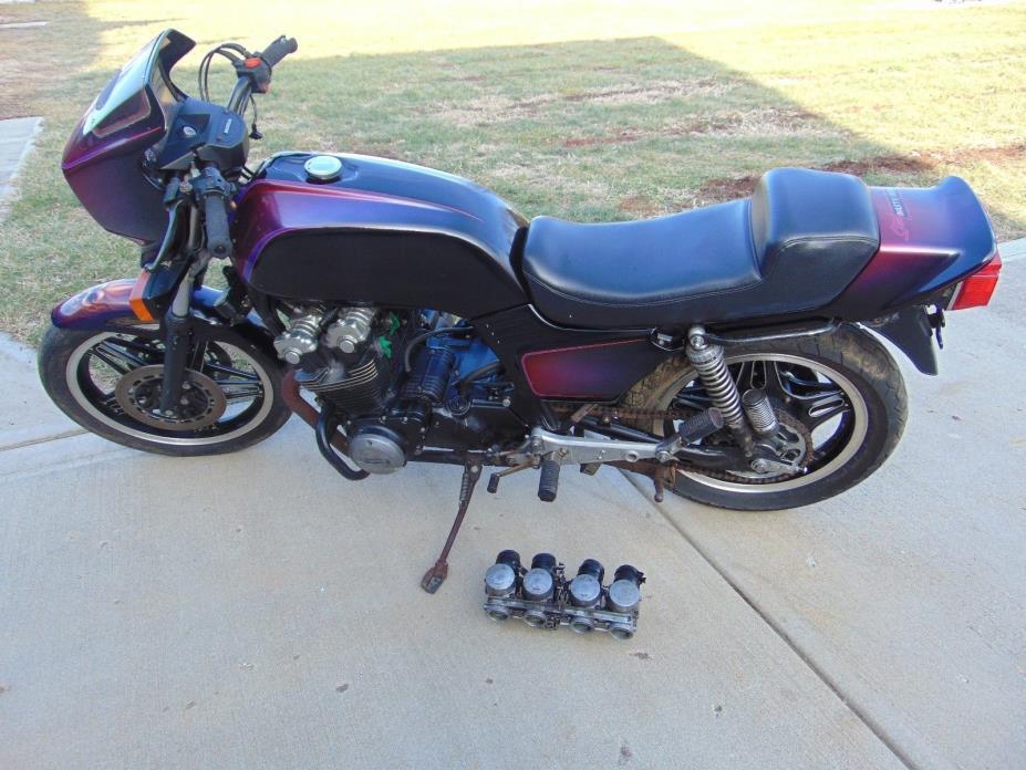 1981 Honda CB  1981 HONDA CB 900F  CB900F