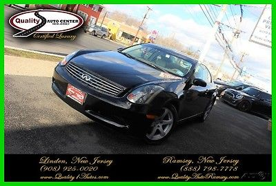 2005 Infiniti G35 Base Coupe 2-Door 2005 Used 3.5L V6 24V Automatic RWD Coupe Premium