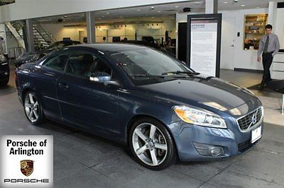 2012 Volvo C70 T5 Convertible 2-Door 2012 Convertible Used Turbocharged Gas I5 2.5L/154 5-Speed Automatic FWD Blue