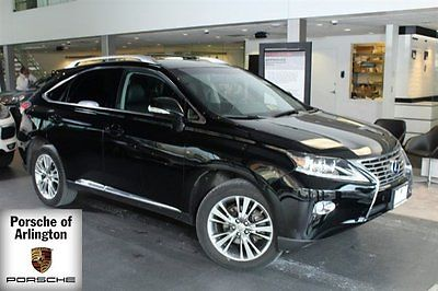 2013 Lexus RX Base Sport Utility 4-Door 2013 SUV Used Gas/Electric V6 3.5L 1-Speed Continuously Variable Ratio Hybrid