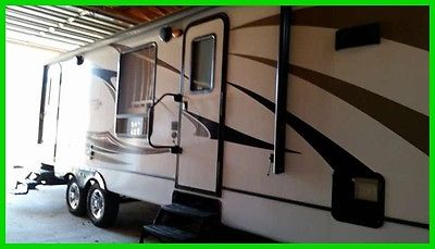 2014 Keystone Cougar Xlite 30FKV 33' Travel Trailer Dual Entry Doors 2 Slides